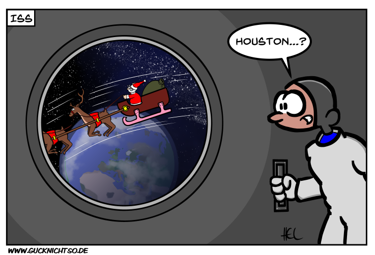 Letztes Weihnachten auf der ISS